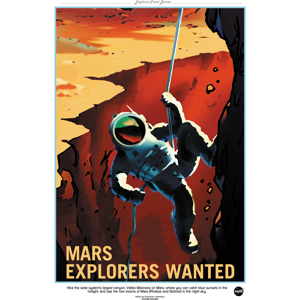 NASA - Mars Series - Explorers Wanted - 13