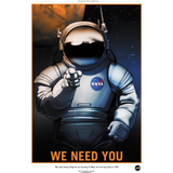 "NASA - Mars Series - We Need You - 13""x19"" Poster"