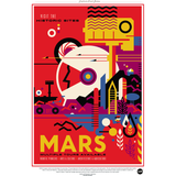 "NASA Travel Series - Mars 13""x19"" Poster"