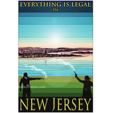 "New Jersey 13""x19"" Poster"