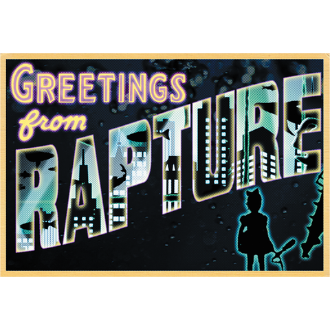 "Greetings from Rapture 19""x13"" Poster"