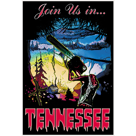 "Tennessee 13""x19"" Poster"