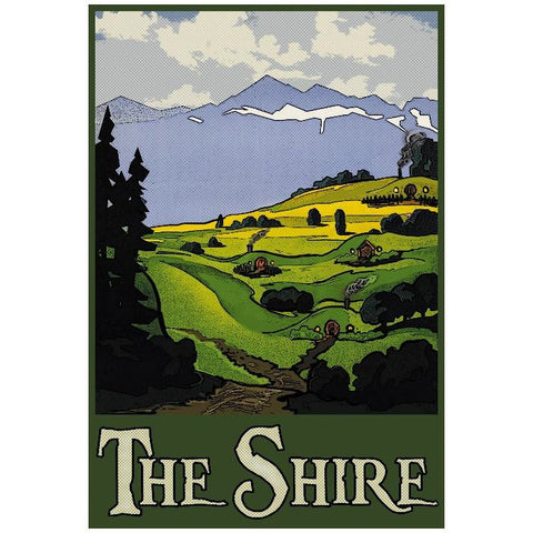 "The Shire 13""x19"" Poster"