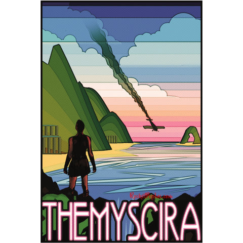 "Themyscira 13""x19"" Poster"