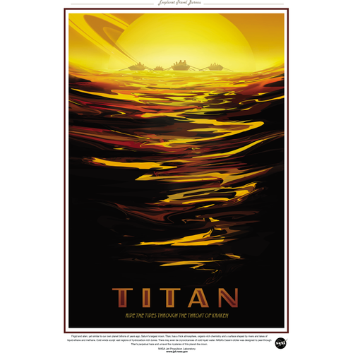 NASA Travel Series - Titan 13