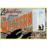 "Greetings from the Western Sea 19""x13"" Poster"