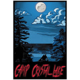 "Camp Crystal Lake 13""x19"" Poster"