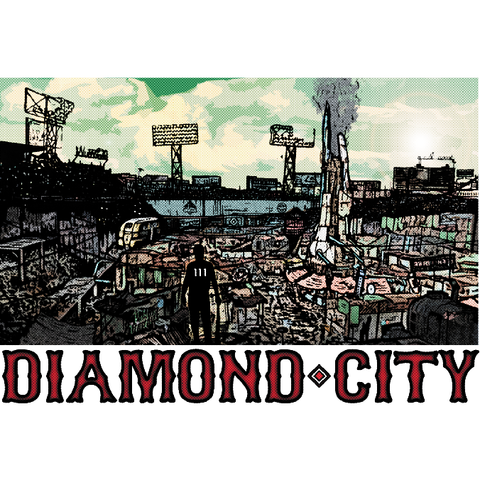 "Diamond City (Landscape) 19""x13"" Poster"