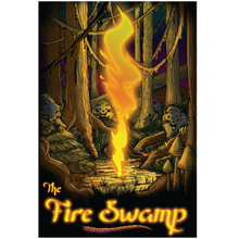 "Fire Swamp 13""x19"" Poster"