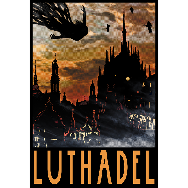 "Luthadel 13""x19"" Poster"