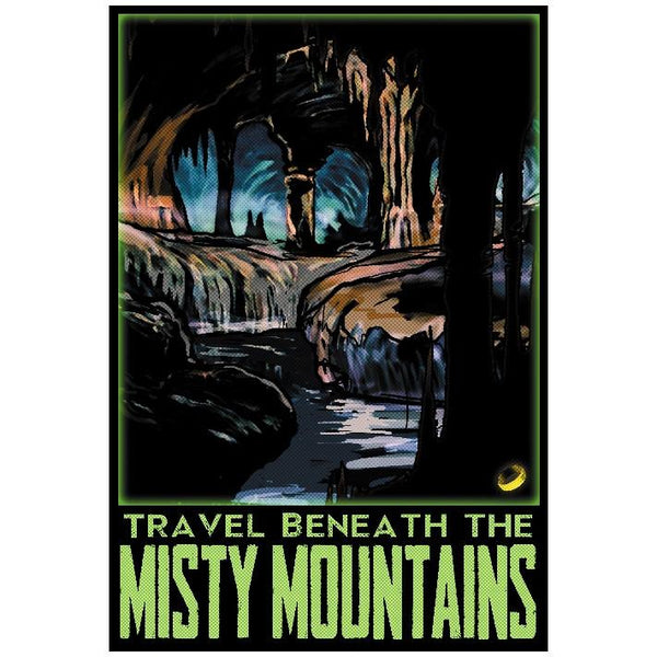 "Misty Mountains 13""x19"" Poster"