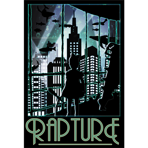 "Rapture 13""x19"" Poster"