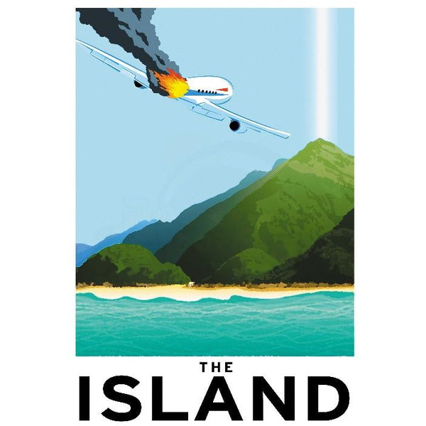 "Island 13""x19"" Poster"