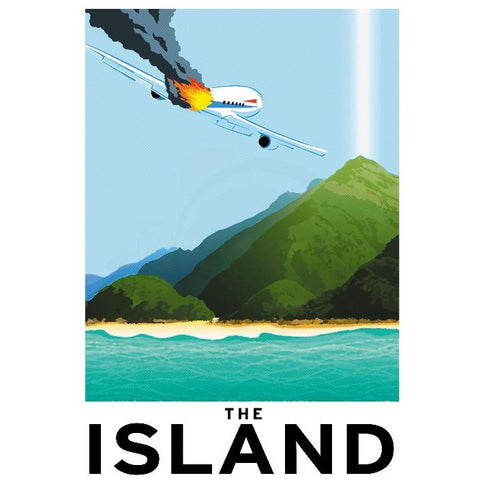 "The Island 13""x19"" Poster"