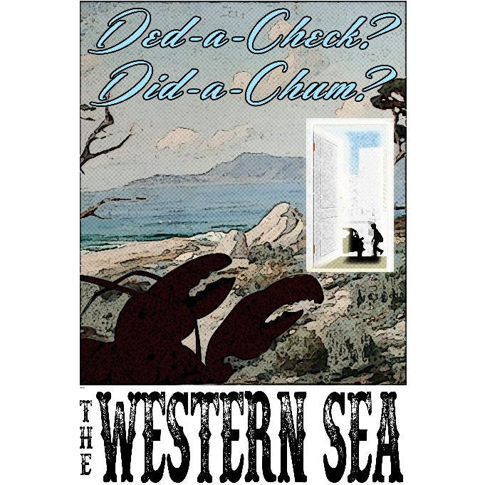"Western Sea 13""x19"" Poster"