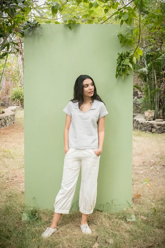 Travelling Pants White