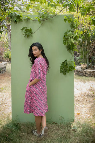 Pink Busy Lizy Dress