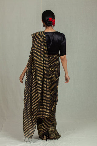 Nira Gold and Black Stripes