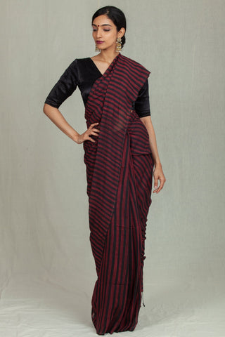 Nira Red and Black Stripes