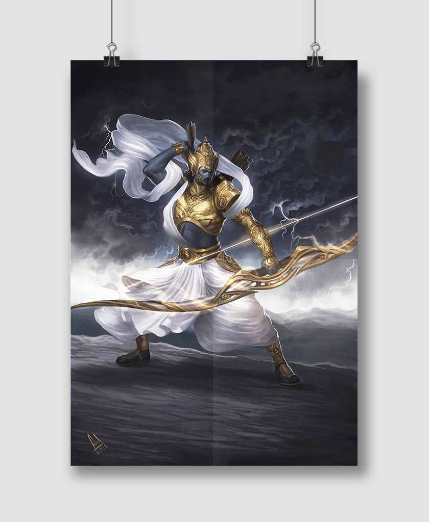 Arjuna Poster and Canvas