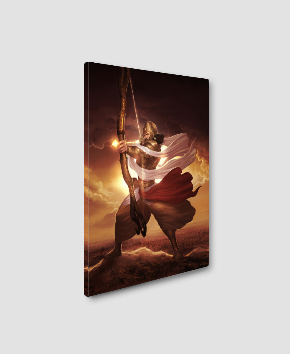 Karna Poster and Canvas