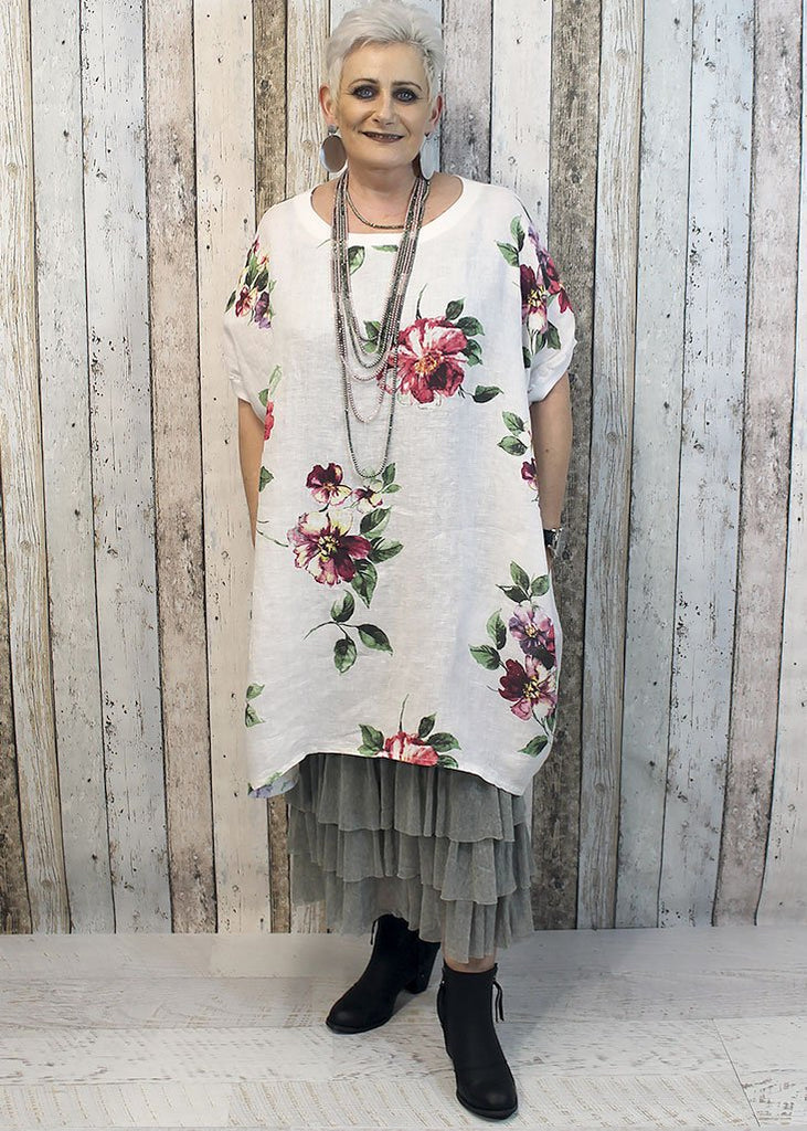 7731ca80c3 Imagine Linen   Silk Clothing Range. This stunning range is Made in Italy  and offers a range of beautiful easy wear pieces that are a One Size fit  which ...