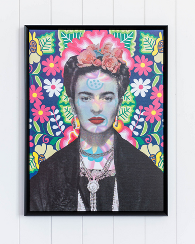 Framed Artwork Frida in Bloom 45 x 60 *Pick up Only