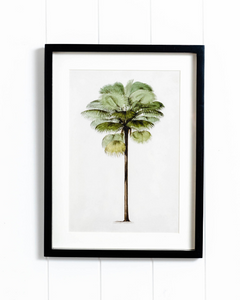 Premium Framed Artwork Palm Island 30 x 40 option A
