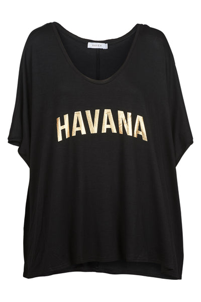 Haven - Havana Tshirt - Black