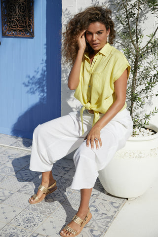 Haven - Palma Shirt - Lemon