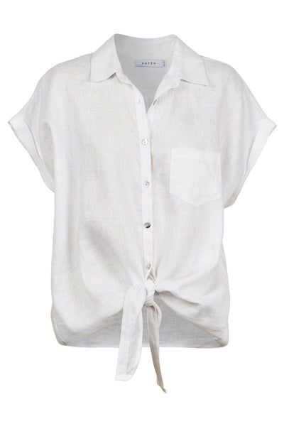 Haven - Palma Shirt - White The Haven Co