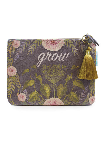 Papaya Art Grow Pocket Clutch
