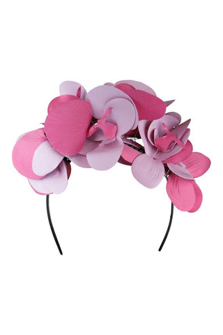 Morgan & Taylor - Celine Fascinator - Pink FS239