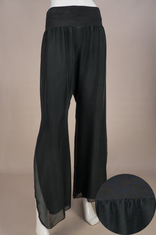 Imagine - Graphite Silk Pant with Split 10IM2184G