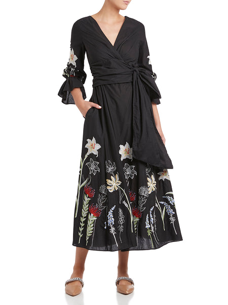 Moss & Spy - Jane Wrap Dress
