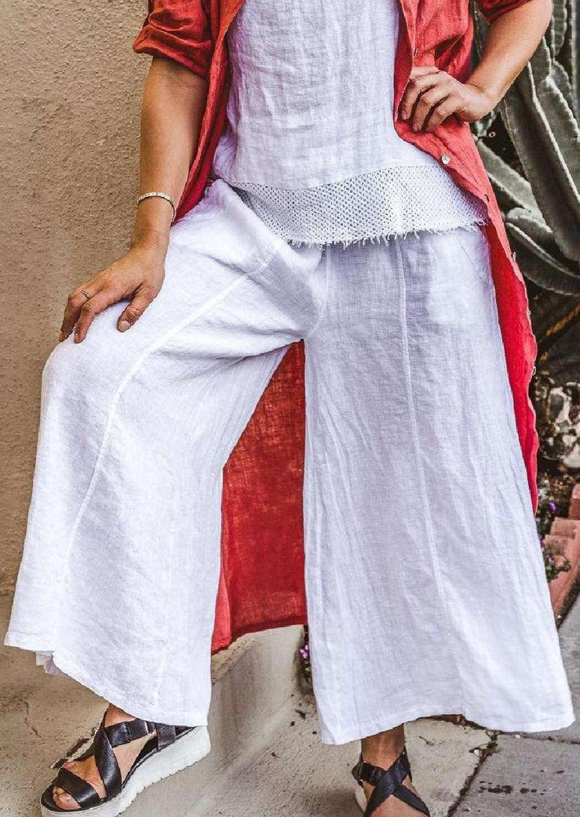 Jenny Jazz - Swinging Sal Pants White