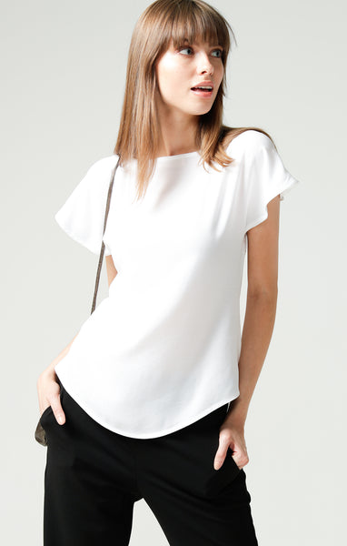 Sacha Drake Analia Reversible Top - White