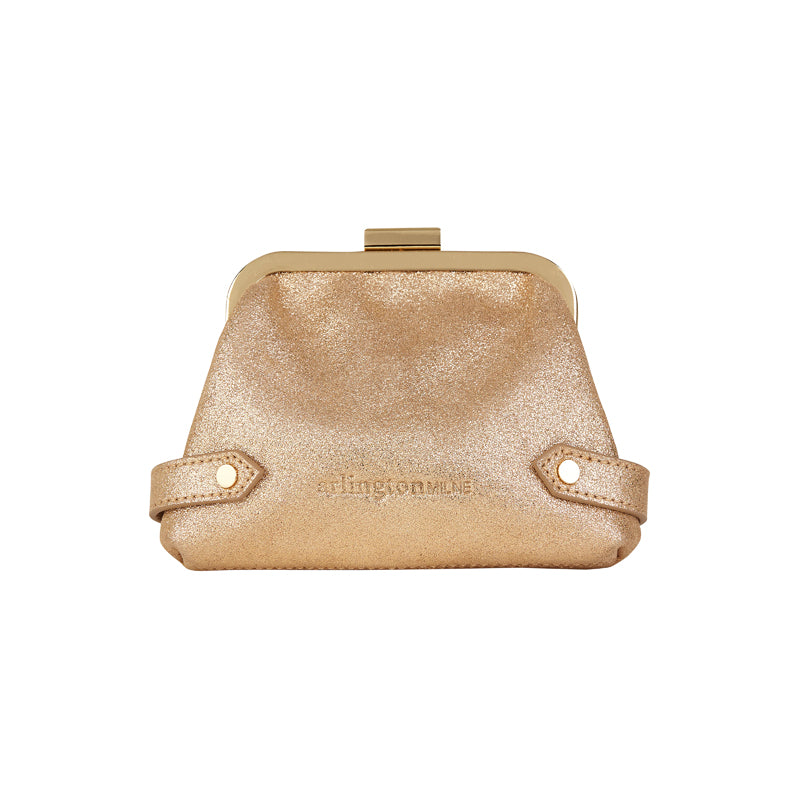 Arlington Milne - Lily Mini - Gold Suede
