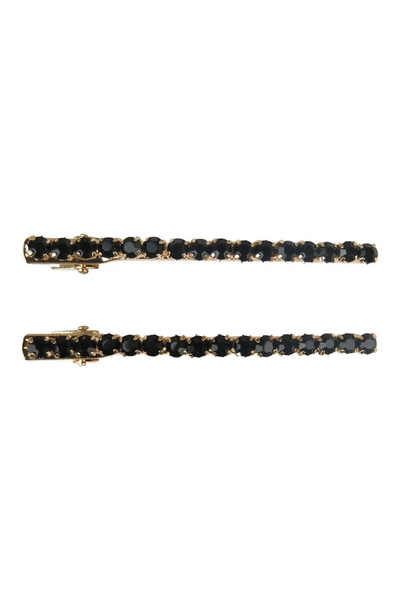 Morgan & Taylor - Black Keisha Hairclip set MC001