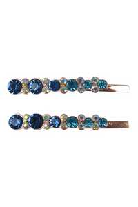 Morgan & Taylor - Blue Jaelle Hairclip set MC004