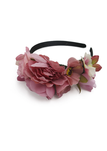 Morgan & Taylor - Pink Multi Karly Fascinator FS409