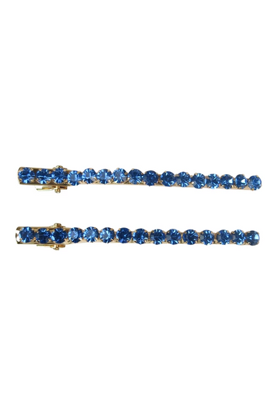 Morgan & Taylor - Royal Blue Keisha Hairclip set MC001