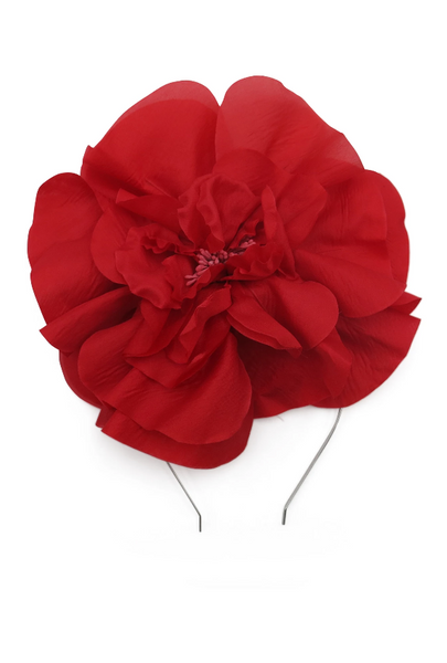 Morgan & Taylor - Red Cindy Fascinator FS400
