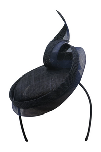 Morgan & Taylor - Navy Jacqui Fascinator FS325