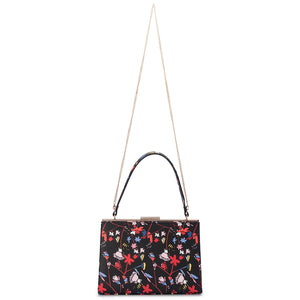 Olga Berg - Black Gianna Lady Like Shoulder Bag - Multi OB4634