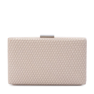 Olga Berg - Natural NAKITA Woven Clutch OB4657