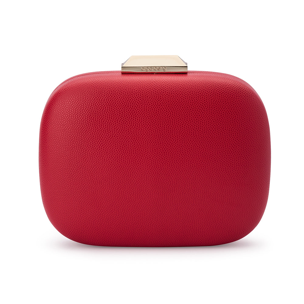 Olga Berg - Red  MILA Rounded Simple Pod - OB7369