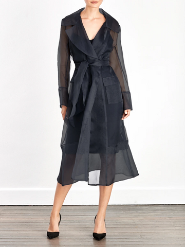 Moss & Spy - Viktoria Jacket / Coat Dress - Navy
