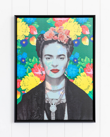 Framed Artwork Frida in Aster 45 x 60 *Pick up Only