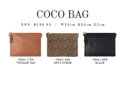 Arlington Milne - Coco Bag - Black